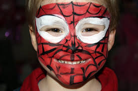 spiderman face painting for children tutorials tips and designs