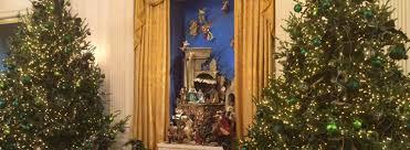 christmas tree house white house christmas tour 2017