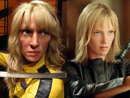 uma thurmans hair in kill bill worst celebrity wax figures wikihowo