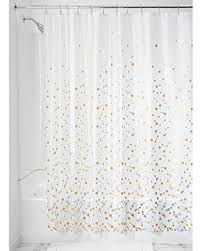 No Liner Shower Curtain Shopping S Deal On Interdesign Confetti Decorative