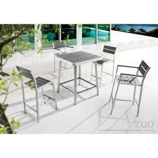 703184 megapolis bar table brushed aluminum