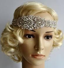 wedding headband luxury rhinestone flapper gatsby headband wedding
