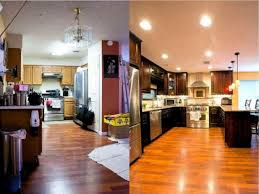 Small Kitchen Before And After by Small Kitchen Remodel Before And After Makeovers The Clayton