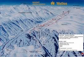 Piste Maps For Italian Ski by Ski Map Watles Italy