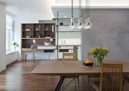 Dining Room Built In Modern Dining Room With Built In Bookshelf By Eisner Design