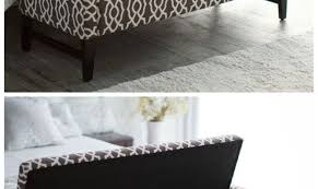 bench illustrious storage ottoman bench tufted brown graceful