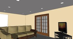Living Room Recessed Lighting by Advice Needed On Placement Of Recessed Lights In Long And Narrow Famil