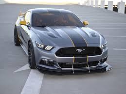 Mustang Yellow And Black Start Mustang6g Wiki
