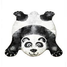 walk on me panda black outdoor area rug u0026 reviews wayfair