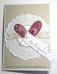 scrapbooking mariage une carte de mariage still scrap de soph
