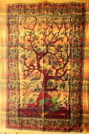 tree of tapestry decor wall hippie tapestry artzone14