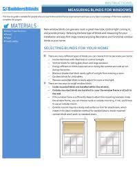 measurement guide builders blinds