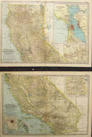 San Francisco Fog Map by Prints Old U0026 Rare California Page