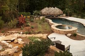 tropical backyard oasis classic landscapes