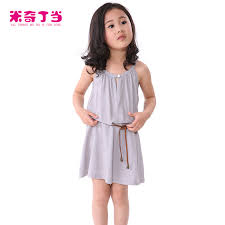 clothing factories kids clothes one piece spaghetti strap skirt