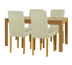 Extendable Dining Table And 4 Chairs Buy Home Penley Extendable Dining Table 4 Chairs At
