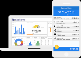 Cloud Based Expense Reporting by Cloud Based Tracking Expenses Clicktime