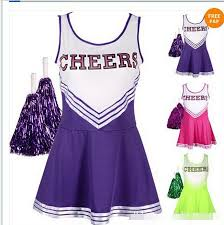 Kids Cheerleader Halloween Costume Compare Prices Cheerleader Halloween Costumes Shopping