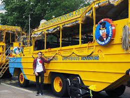 amphibious vehicle duck london duck tours no need for postcards