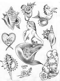 mermaid tattoo designs page 3 tattooimages biz