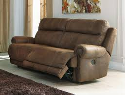 Couch Angled View Signature Design By Ashley 3840081 Austere Series Faux Leather