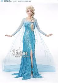 Elsa Costume Aliexpress Com Buy Newest Elsa Costume Elsa Dress Princess