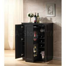 furniture tall thin wine rack black wine bar cabinet stackable
