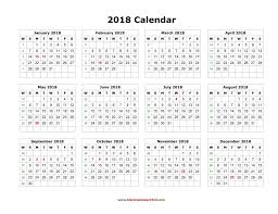 printable calendar year on one page 2018 printable calendar one page roberto mattni co