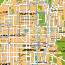 Japanese Castle Floor Plan Download Kyoto Maps Youinjapan Net