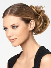 modern chignon by hairdo u2013 wigs com u2013 the wig experts