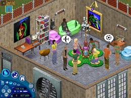 house party game screenshot image the sims house party mod db