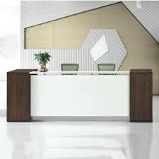 Modern Office Reception Desk Wood Reception Desk Office Area Seating Wood Reception Desk Office