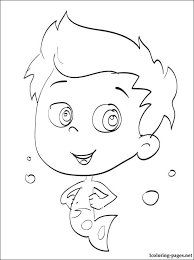 free bubble guppies coloring pages bubble guppies gil coloring card coloring pages