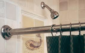 Bathroom Shower Curtain Rod Shower Curtain Rod Brackets And Hooks Sr Rocky Mountain Hardware