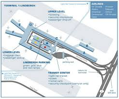 New Orleans Airport Map by Airport Terminal Maps Minneapolis New Orleans New York Newark