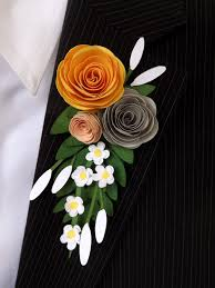 boutonniere prom prom paper boutonniere and corsage pazzles craft room