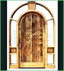 Carved Exterior Doors Front Wooden Doors Matano Co