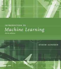 introduction to machine learning the mit press