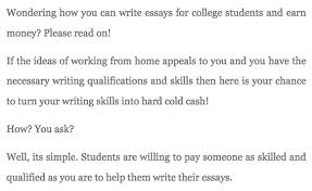 write essay for money if you re interested in academic writing read this