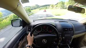 volkswagen touareg 2004 2 5 r5 tdi mountain drive pov youtube
