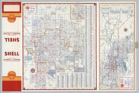 Phoenix Traffic Map by Shell Street Map Of Tucson Shell Metropolitan Phoenix And