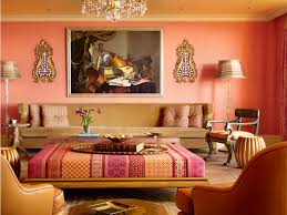 moroccan style living room interior design ideas handpainted