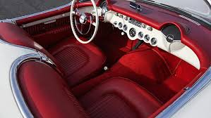 oldest corvette 1955 corvette vin 002 with oldest production v8 to be offered at