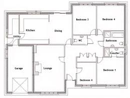four bedroom flat plan with concept photo mariapngt