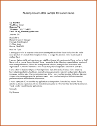 cover letter for nursing sop example