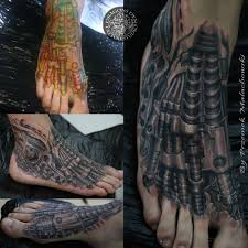 tattoo 3d mechanical przemyslaw malachowski certified artist
