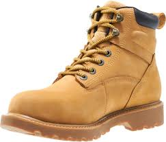 wolverine mens wheat leather floorhand wp st 6in work boots u2013 the