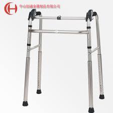 elder walker aluminum disable handicapped frame height adjustable foldable