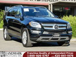 mercedes suv prices used mercedes gl class at landmark motors inc serving seattle