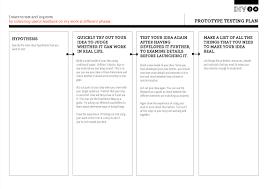 prototype testing plan u2013 development impact and you